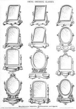 Swing Dressing GlassesMirrors , Plate 190