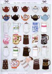 Tea Pots, Coffee Pots and Jugs, Plate 37