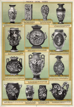 French China Vases, Plate 77