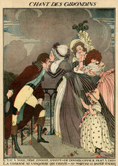 Illustration, Song of the Girondins
