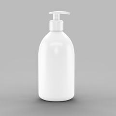 Obraz butelka na żel do ciała - fototapety do salonu