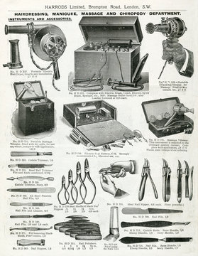 Trade Catalogue of Electric Hair Dryer 1911