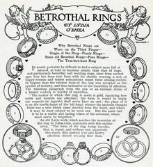 Betrothal Rings 1912