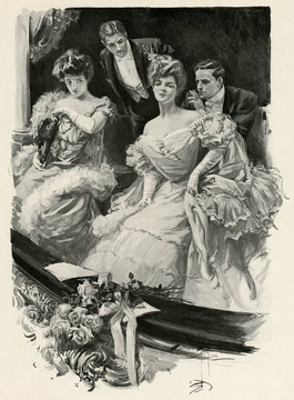 Rivals at the Theatre 1906