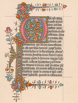 Page From a Book of Hours