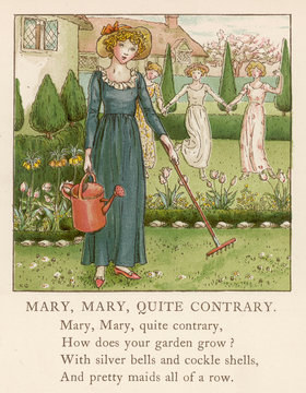 Contrary Mary April Baby