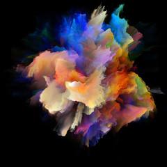 Petals of Color Splash Explosion