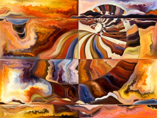 Stream of Living Canvas