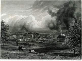 Industrial Landscape 19th Century