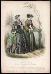Two Ladies Walking 1853