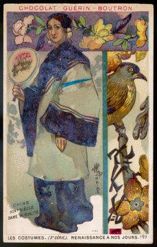 Costume Women China 19th Century