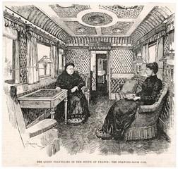 Victorias Rail Carriage