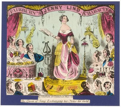 Jenny Lind 1850 Print