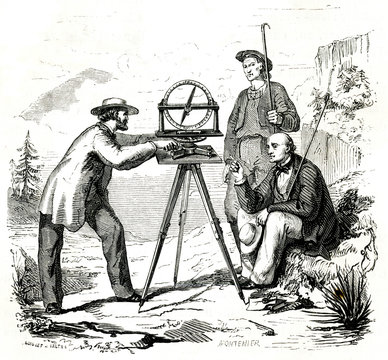 Surveying with a Compass