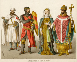 Knight Templar, Knight and Bishop