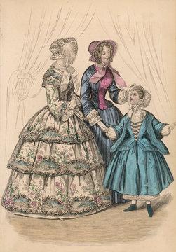 Costume Women 1852