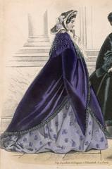 Purple Pardessus 1861