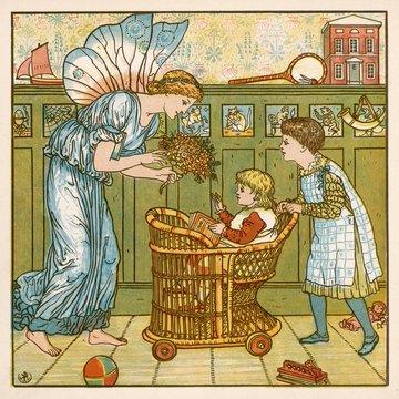 Children in Nursery 1878