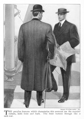 Overcoat Back View 1907