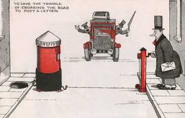 Some Labour Saving Devices by William Heath Robinson