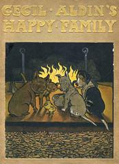 Cover Design, Cecil Aldins Happy Family