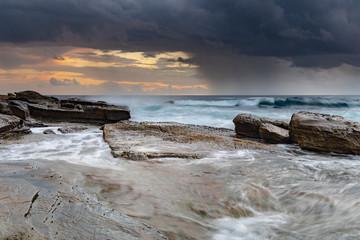 Rock Ledge and Seascape