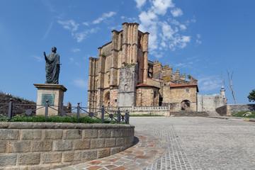 Santa Maria de la Asuncion church, Castro Urdiales, Cantabria, Spain