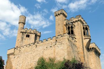 Olite castle, Navarre, Spain