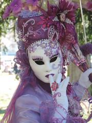 Foto op Canvas Schilderkunstige Inspiratie Carnaval vénitien d'Annecy 2019