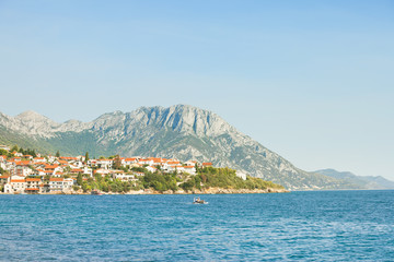 Kapec, Dalmatia, Croatia - Viewpoint lookout upon the beautiful coast of Kapec