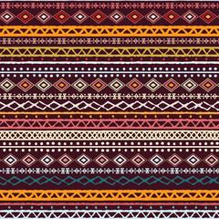 Ethnic boho, aztec seamless pattern