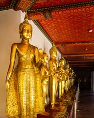 """Row of Buddha at """"Wat Pho"""""""