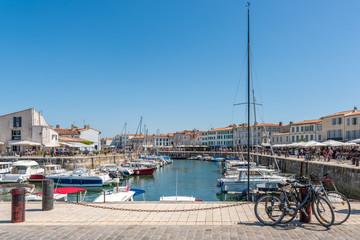 Ile de Ré (France), port de Saint-Martin
