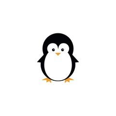 illustration penguin icon logo