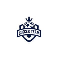 Modern professional logo for soccer