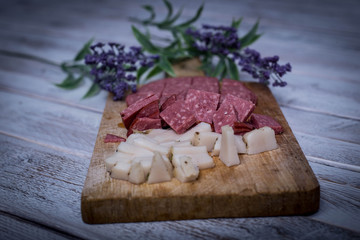 Bulgarian meat, dinner with meat