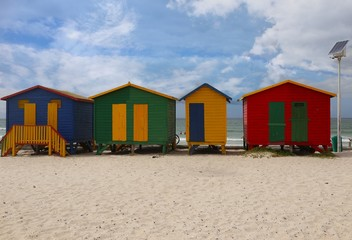 Muizenberg  is a beach-side suburb of Cape Town, South Africa