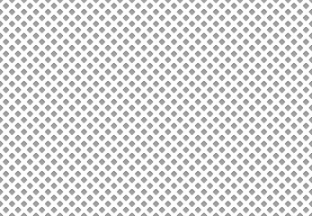 Seamless polyester fabric texture. Athletics cloth grid material, nylon mesh sport clothing textile vector pattern Fototapete