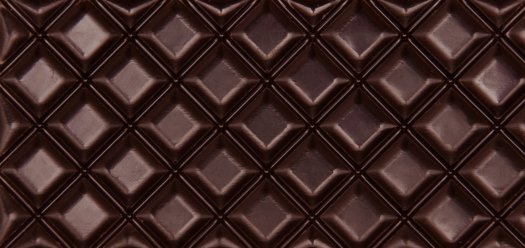 Brown chocolate bar. Background, food and concept