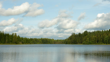 Beautifull finnish landscape.