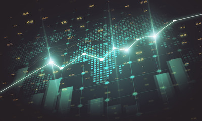 Creative forex chart wallpaper