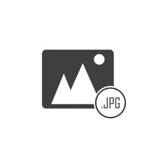 jpg file icon. One of the collection icons for websites, web design, mobile app