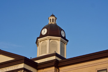 Courthouse Clocktower Dome
