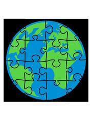 planet puzzle teil erde welt puzzlespiel puzzleteil puzzlestück puzzeln form logo spaß bild design cool umriss hobby