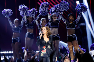 Sarah McLachlan hosts the 2019 Juno Awards in London, Ontario, Canada