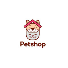 pet shop logo, veterinary clinic