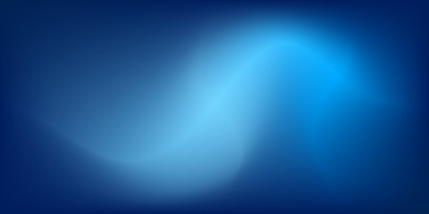 Blur blue color abstract background