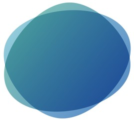 circle background abstract blue color gradient background, illustration, copy space for text