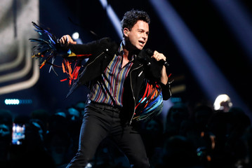 Arkells perform at the 2019 Juno Awards in London, Ontario, Canada