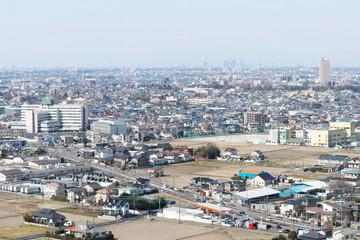 埼玉県越谷市の街並み